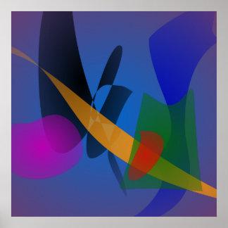 Arte abstracta da emoção