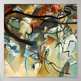Arte abstracta de Kandinsky Poster