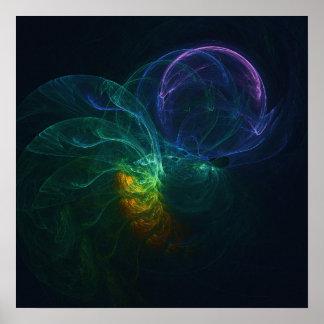 Arte abstracta - Elosion Poster