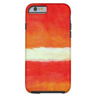 Arte abstracta moderna - estilo de Rothko Capa Tough Para iPhone 6