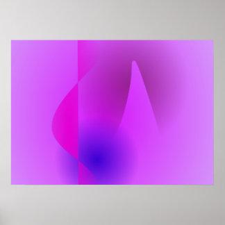 Arte abstracta modesto posters