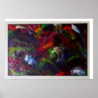 Arte abstracta original poster