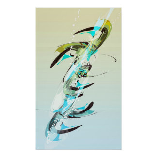 arte abstracta pôster