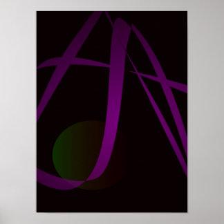 Arte abstracta preta do fundo impressão