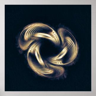 Arte abstracta - renascimento poster