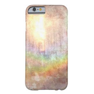 arte abstracta sunlit do efeito do grunge do capa barely there para iPhone 6