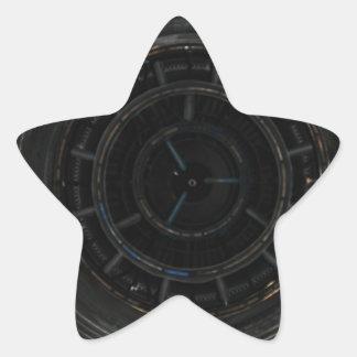 Arte antiga abstrata S da forma do estilo da Adesivo Em Forma De Estrela