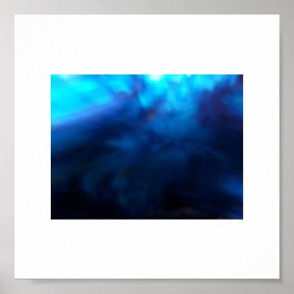 arte azul escuro da foto dos trabalhos de arte dos poster
