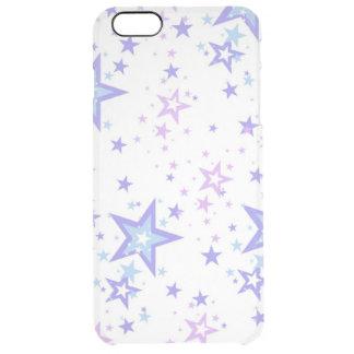 arte colorida do vextor das estrelas capa para iPhone 6 plus clear