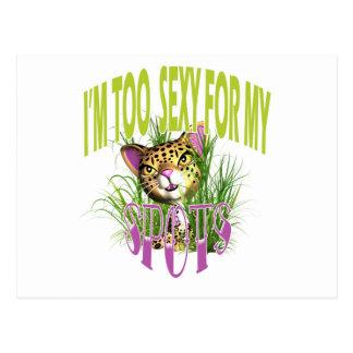 Arte cómica engraçada do gato bonito cartao postal