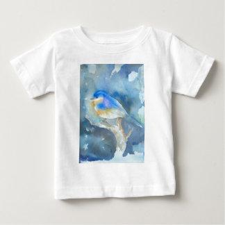 Arte da aguarela do Bluebird Tshirts