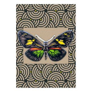 Arte da borboleta do vintage cartão de visita grande