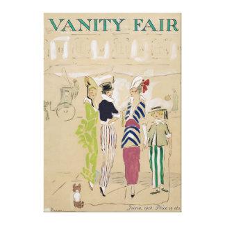 Arte da capa de revista de Vanity Fair desde junho Impressão Em Tela