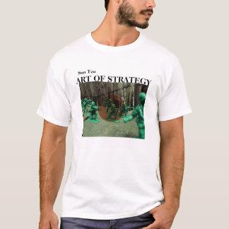 Arte da estratégia camiseta