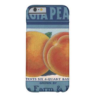 Arte da etiqueta da caixa da fruta do vintage, capa barely there para iPhone 6