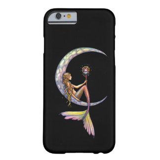 Arte da fantasia da lua da sereia capa barely there para iPhone 6