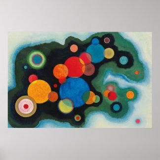 Arte da pintura do impulso de Deeped da composição Pôster