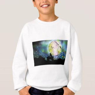 Arte da pintura pistola da paisagem do espaço do camiseta
