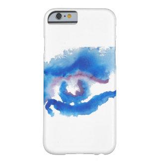 Arte de CricketDiane dos olhos azuis da aguarela Capa Barely There Para iPhone 6