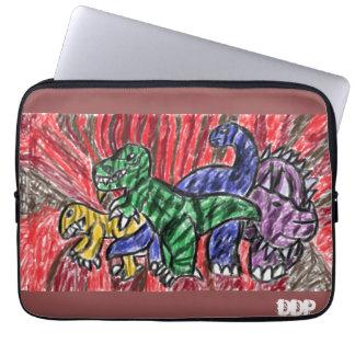 Arte de Dino Capa Para Laptop