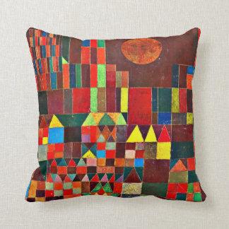 Arte de Paul Klee: Castelo e Sun Almofada