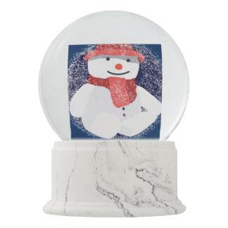 Arte do boneco de neve do Natal