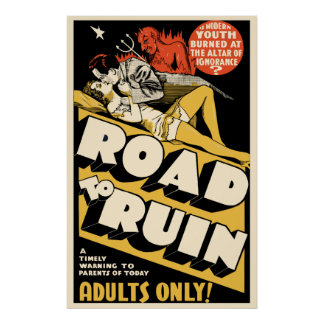 Arte do cartaz cinematográfico do vintage - poster