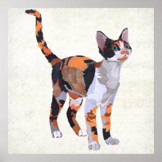 Arte do CAT de CHITA Poster