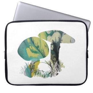 Arte do cogumelo capa de notebook