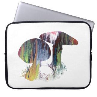 Arte do cogumelo capa para laptop