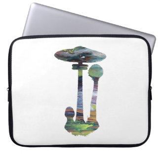 Arte do cogumelo capa para notebook