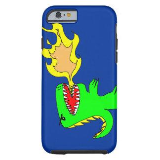 Arte do dinossauro ou do dragão por pouco t + capa tough para iPhone 6