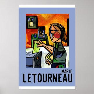 Arte do escritório poster