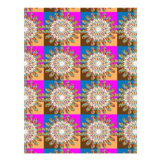 Arte do girassol do chakra da faísca do SOL por Na Papéis De Carta Personalizados