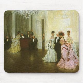Arte do Victorian do vintage, demasiado cedo por Mouse Pad