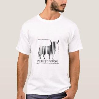 arte final do porco com arte do texto-código de tshirt