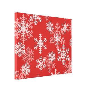 Arte-Flocos de neve das canvas do feriado