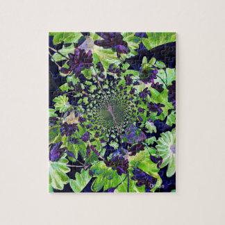 arte floral abstrata por Othon Quebra-cabeça