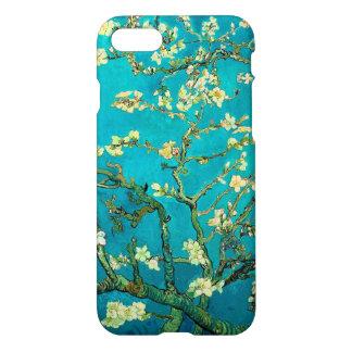 Arte floral de florescência da árvore de amêndoa capa iPhone 7