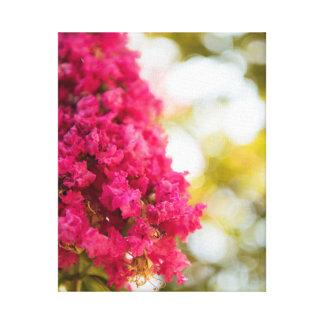 Arte floral magenta cor-de-rosa da decoração da