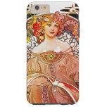 Arte floral Nouveau do vintage do Daydream de Capa Tough Para iPhone 6 Plus