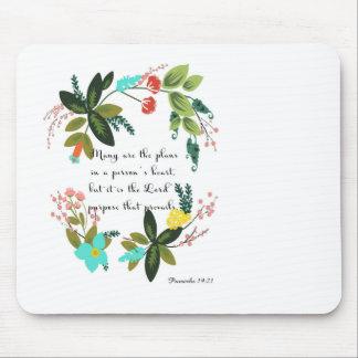 Arte inspirada cristã - 19:21 dos provérbio