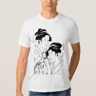 Arte japonesa bonito camisetas