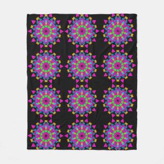 Arte Mystical da mandala na cobertura do velo Cobertor De Lã