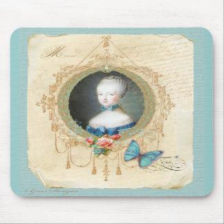 Arte nova Mousepad da borboleta de Marie Antoinett