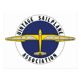 Artigos da associação de Sailplane do vintage Cartão Postal
