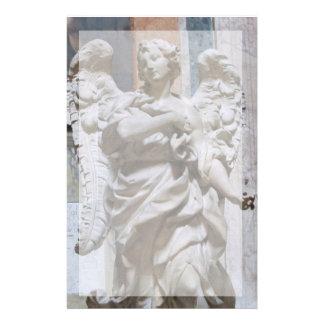 Artigos de papelaria--Anjo do panteão com beira Papelaria