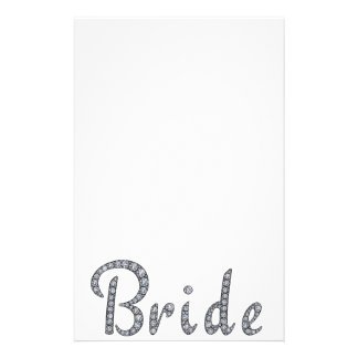 Artigos de papelaria bling da noiva