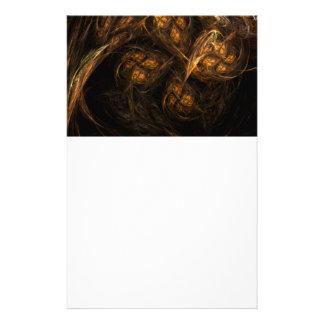 Artigos de papelaria da arte abstracta da Mãe