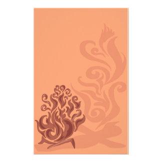 Artigos de papelaria de cobre encantadores da fogu